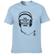 Music Printed Hip Hop T Shirts 235