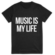 Music Is My Life T Shirt for women clothing