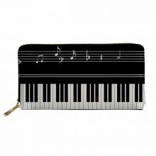 Women Piano Wallet