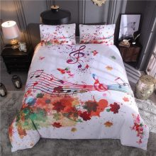Music Note Bedding Set