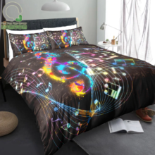 Music Themed Bedding Set