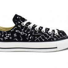 Music Note Shoes Sneakers