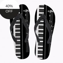 Piano Keyboard Cheap Flip Flops Online
