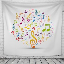 Music Wall Tapestry FOR SALE
