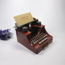 Typewriter Machine Music Box