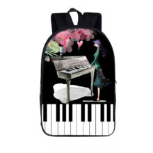 Elegant Music Playing Piano Backpack