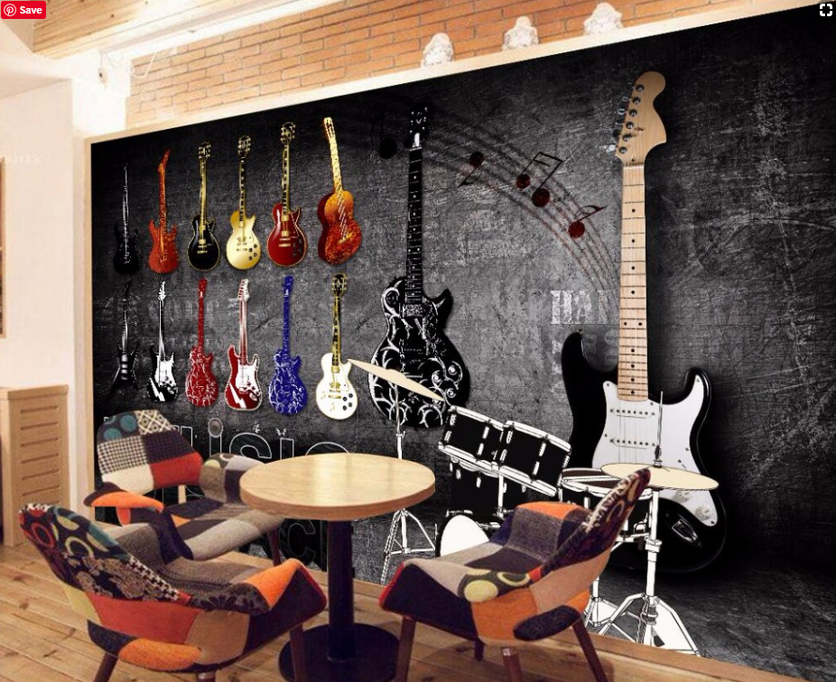 How to Decorate a Music Room? » Music Note Gifts